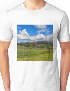 Rural View in Queensland Unisex T-Shirt