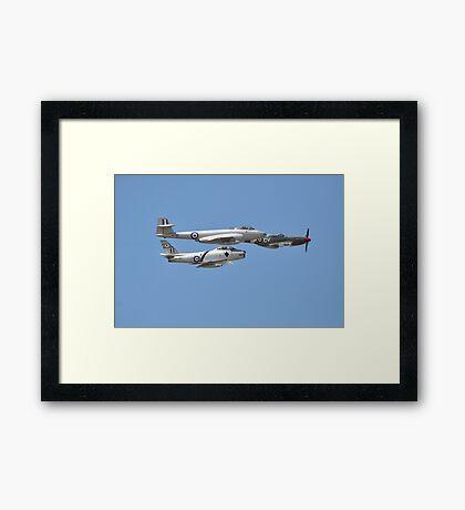 Korean War Flypast, Point Cook Airshow, Australia 2014 Framed Print