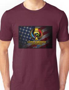 Conmebol Fifa Copa America Centenario, Usa 2016 Flag Unisex T-Shirt