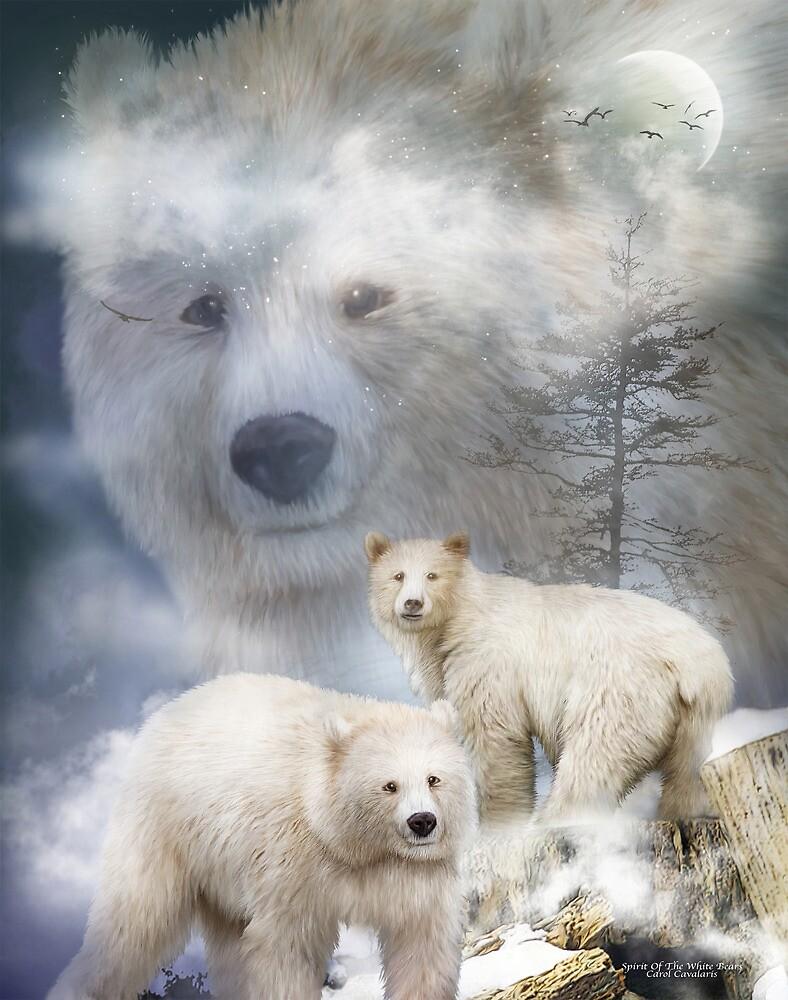 Spirit Of The White Bear by Carol  Cavalaris