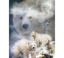 Spirit Of The White Bear Photographic Print