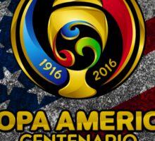 Conmebol Fifa Copa America Centenario, Usa 2016 Flag Sticker