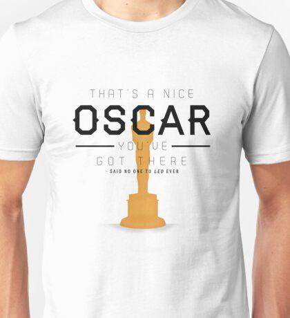 No Oscar for Leo Unisex T-Shirt