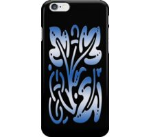 Smartphone Case - Abstract Botanical - Steel Blue iPhone Case/Skin