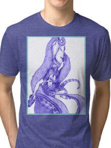 Tentacle slayer Tri-blend T-Shirt