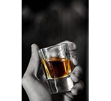 Whiskey shot Photographic Print