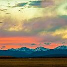 Mummy Range Sunset by nikongreg