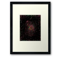 Abstract galaxy spectrum Framed Print