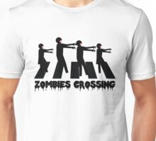 Zombies Crossing T-Shirt Unisex T-Shirt