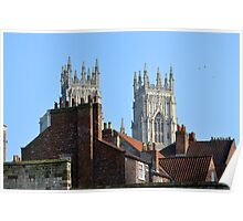 York City Skyline Poster