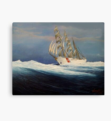 United States Coast  Guard Barque Eagle Canvas Print