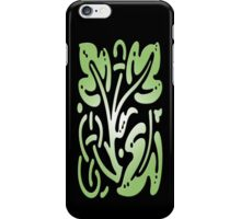 Smartphone Case - Abstract Botanical - Lime Green iPhone Case/Skin