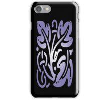 Smartphone Case - Abstract Botanical - Light Purple iPhone Case/Skin