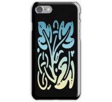 Smartphone Case - Abstract Botanical - Yellow Green Blue iPhone Case/Skin