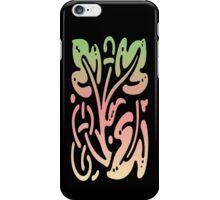Smartphone Case - Abstract Botanical - Yellow Pink Green iPhone Case/Skin