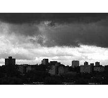 Threatening skies Photographic Print