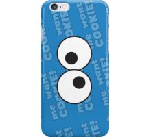 Cookie monster iconic iPhone Case/Skin