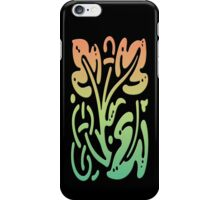 Smartphone Case - Abstract Botanical - Green Yellow Orange iPhone Case/Skin