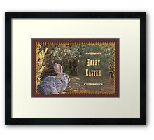A bit wild for Easter Framed Print