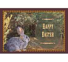 A bit wild for Easter Photographic Print