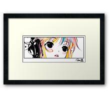 Yuki Block Framed Print