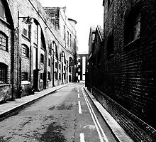 London docks by Barry Robinson