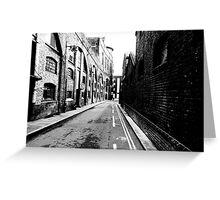 London docks Greeting Card