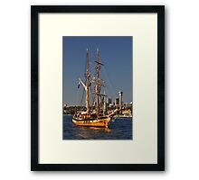 Windeward Bound @ Darling Harbour, Sydney, Australia 2013 Framed Print