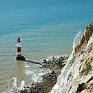 Beachy Head Lighthouse, East Sussex by Ludwig Wagner