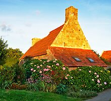 Flowered cottage in Brittany by 7horses