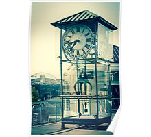 City Clock Poster