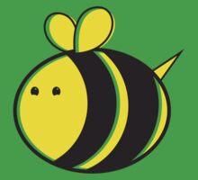 Cute little bumble fat bee One Piece - Short Sleeve