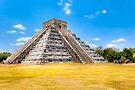El Castillo - Chichen Itza Mayan Ruins by Mark Tisdale