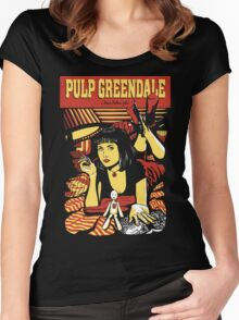 Pulp Greendale Women's Fitted Scoop T-Shirt