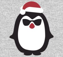 Santa penguin One Piece - Long Sleeve