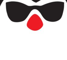 Santa penguin Sticker