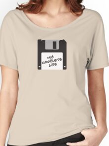 Floppy disk Women's Relaxed Fit T-Shirt
