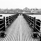 A pier on the Thames by Barry Robinson