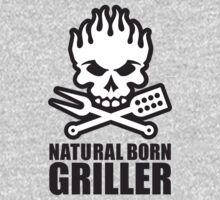 Natural born griller One Piece - Long Sleeve