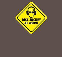 Disc jockey at work Unisex T-Shirt