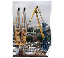 portal cranes Poster