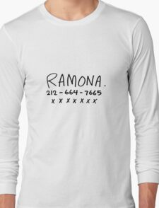 RAMONA FLOWERS Long Sleeve T-Shirt
