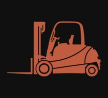Forklift Truck Silhouette by no-doubt