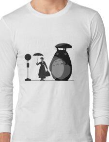 mary and totoro Long Sleeve T-Shirt