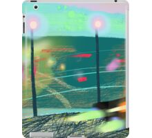 Evening streets of San Francisco iPad Case/Skin
