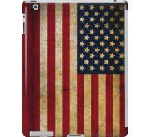 Vintage American Flag iPad Case/Skin
