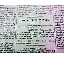 Insulin Price Reduced Photographic Print
