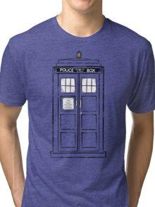 Tardis (trashy) Tri-blend T-Shirt