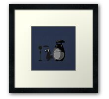 mary and totoro Framed Print