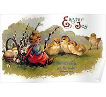 Happy Easter - Children's Greeting Card Poster